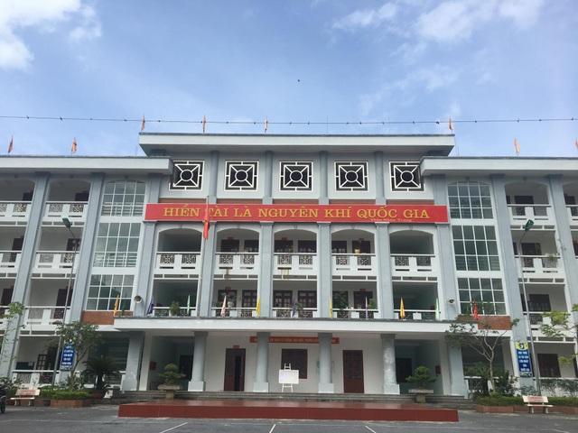 Trường THPT chuyên Hà Giang (Ảnh: Mỹ Hà).