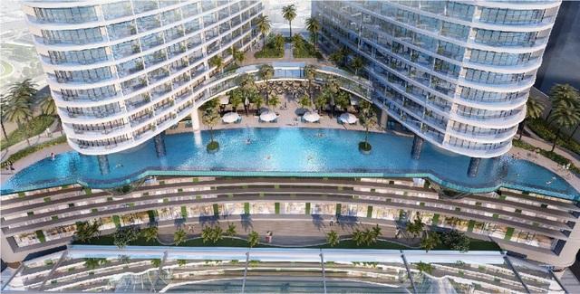 Phối cảnh dự án Beau Rivage Nha Trang tọa lạc tại số 40 Trần Phú, Thành phố Nha Trang