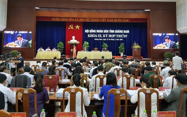 HĐND tỉnh Quảng Nam khai mạc kỳ họp thứ 7 Khóa IX sáng 17/7