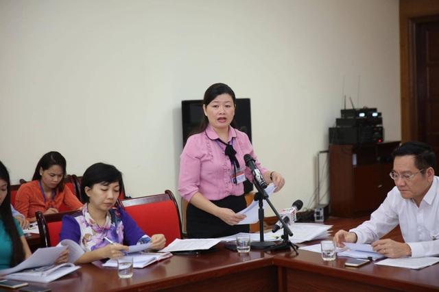 Bà Vương Thị Vân Khánh – Chánh văn Phòng UBND quận Thanh Xuân