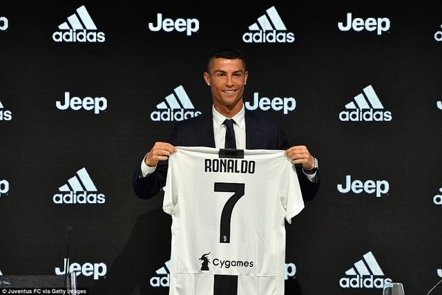 C.Ronaldo sẵn sàng cho thử thách mới cùng Juventus
