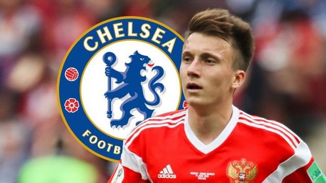 Chelsea sắp có được chữ ký của Golovin