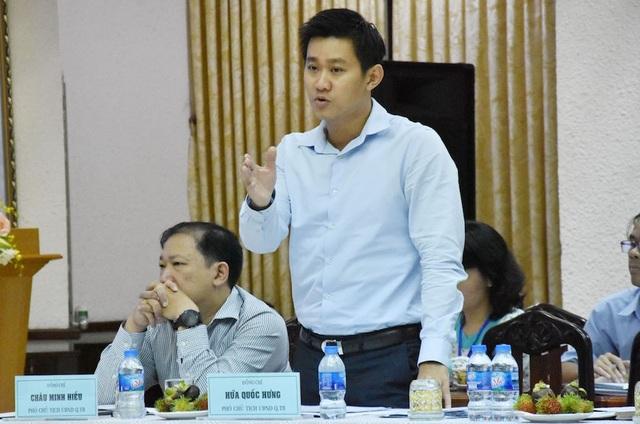 Ông Hứa Quốc Hưng - Phó Chủ tịch UBND quận Tân Bình cho biết, quận đã có văn bản xin hoàn trả 800 tỷ đồng cho thành phố