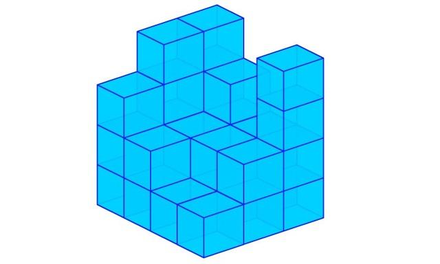 Toán tương tác: Đáp án bài toán đếm khối lập phương - 1