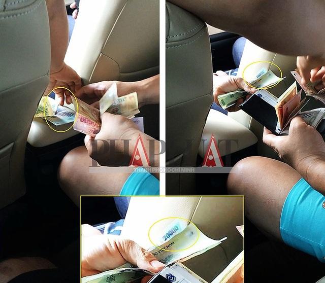 """Chiêu trò """"đồng 500.000 có ma"""" của các taxi dù - 2"""