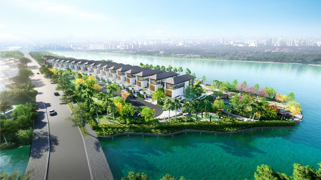 Dự án sở hữu nhiều tiện ích đẳng cấp vượt trội: vườn Nhật Bản, sân mini golf, bến du thuyền...