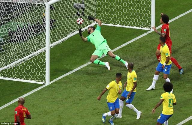 Alisson là thủ môn số 1 của đội tuyển Brazil tại World Cup 2018