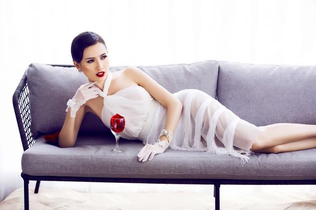 Phan Thị Mơ hở bạo trước ngày thi Hoa hậu Đại sứ du lịch Thế giới 2018 - 8