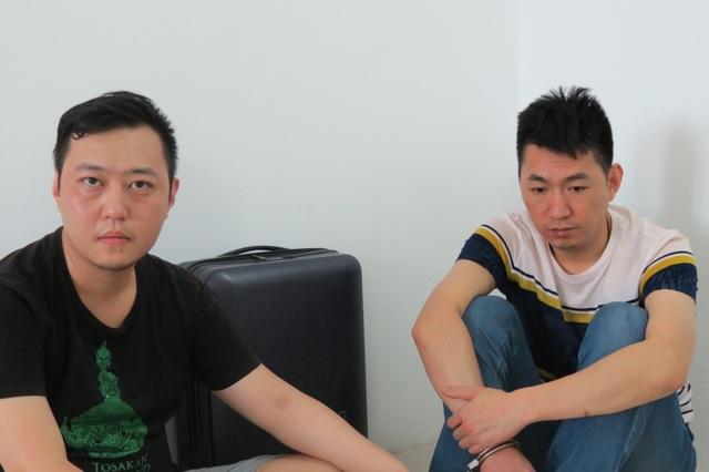 5 đối tượng quốc tịch Trung Quốc trong đường dây sử dụng công nghệ cao để lừa đảo chiếm đoạt tài sản