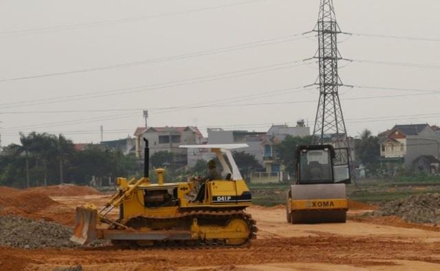 Dự án khu đô thị núi Long là một trong những dự án đất vàng được đấu giá trái luật.
