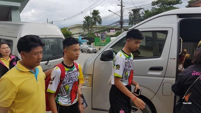 Các cầu thủ nhí đã xuất viện (Ảnh: ThaiPBSnews)