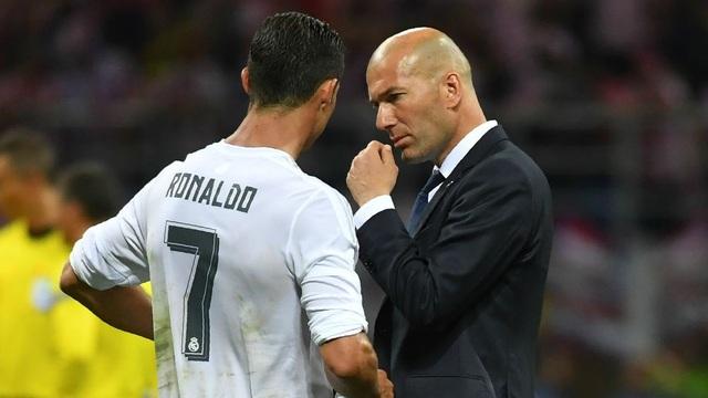 HLV Zidane sẽ cùng C.Ronaldo tới Juventus?