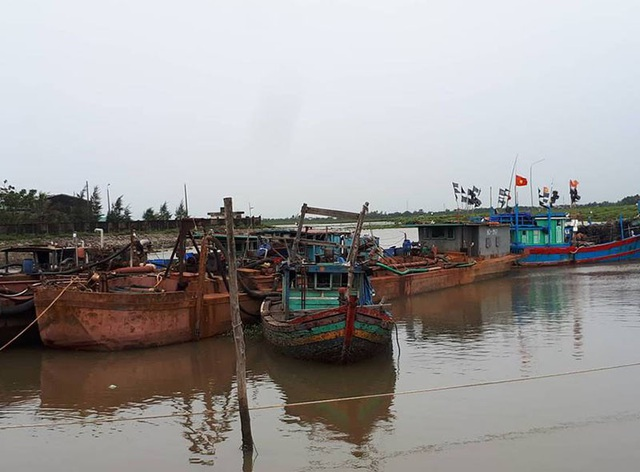 Sáng nay 19/7, ngư dân đã vớt phương tiện này lên khi bão tan.