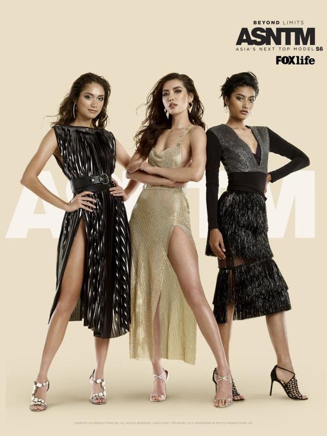 Hình ảnh của Minh Tú được giới thiệu trong hình ảnh chính thức của cuộc thi Asia's Next Top Model mùa thứ sáu.