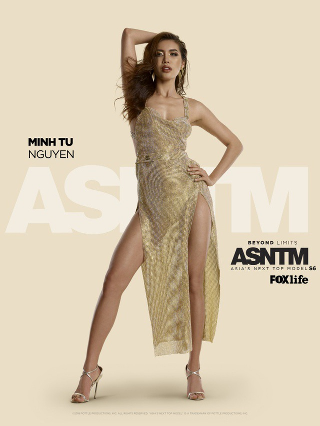 Minh Tú là Á quân Asia's Next Top Model 2017.