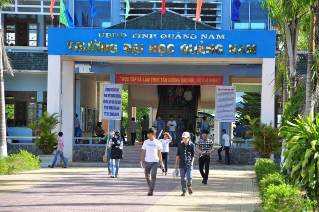 Trường ĐH Quảng Nam: Điểm sàn xét tuyển từ 13-17 điểm - 1
