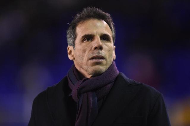 Zola trở lại làm trợ lý HLV ở Chelsea