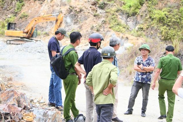 Đoàn đã ghi nhận ban đầu mỏ chưa đầy đủ thủ tục