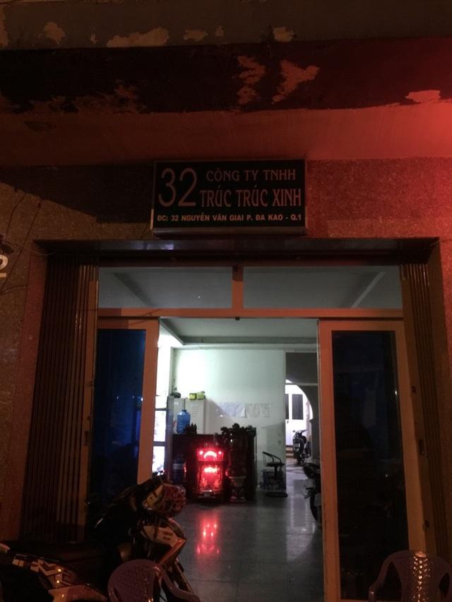 Nhà hàng Trúc Trúc Xinh bị công an kiểm tra