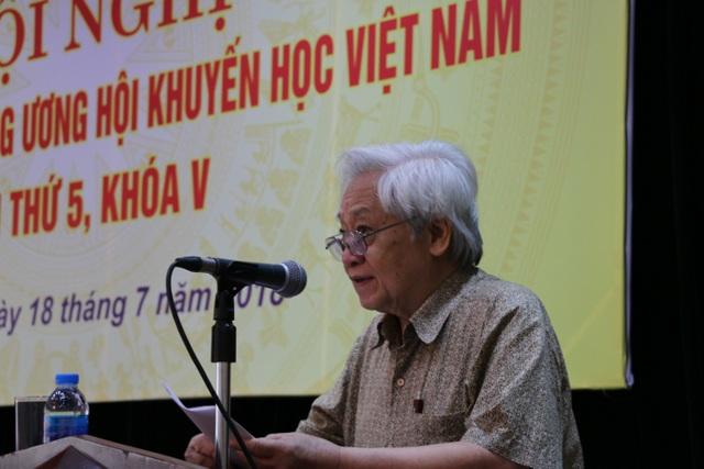 GS.TS Phạm Tất Dong, Tổng thư kí TƯ Hội Khuyến học Việt Nam.
