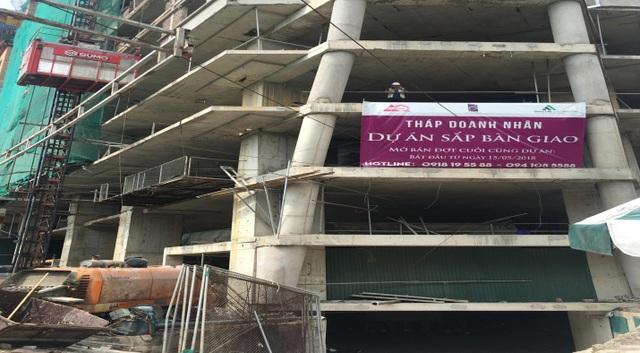 """Dự án sắp bàn giao. Đây cũng là cơ hội cuối cùng cho khách hàng muốn sở hữu những căn hộ """"giá hời"""" tại vị trí vàng Trung tâm Quận Hà Đông."""
