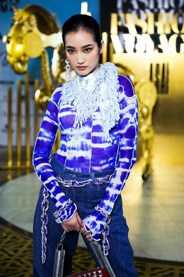 Các layout trang điểm tại show diễn được mang đến bởi chuyên gia trang điểm Nam Trung và mỹ phẩm Menard