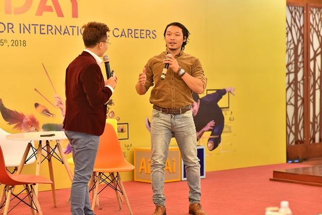 "Trịnh Hấp chia sẻ kinh nghiệm tại sự kiện ""Open Day: Multimedia Design – A passport for international careers"""