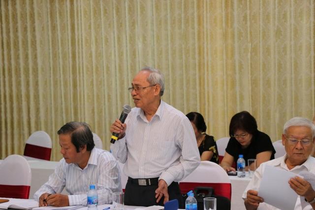 Ông Nguyễn Thanh Cầm, Chủ tịch Hội Khuyến học Thái Bình.