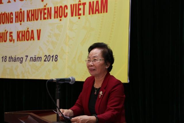 GS.TS Nguyễn Thị Doan, Chủ tịch Hội Khuyến học Việt Nam.