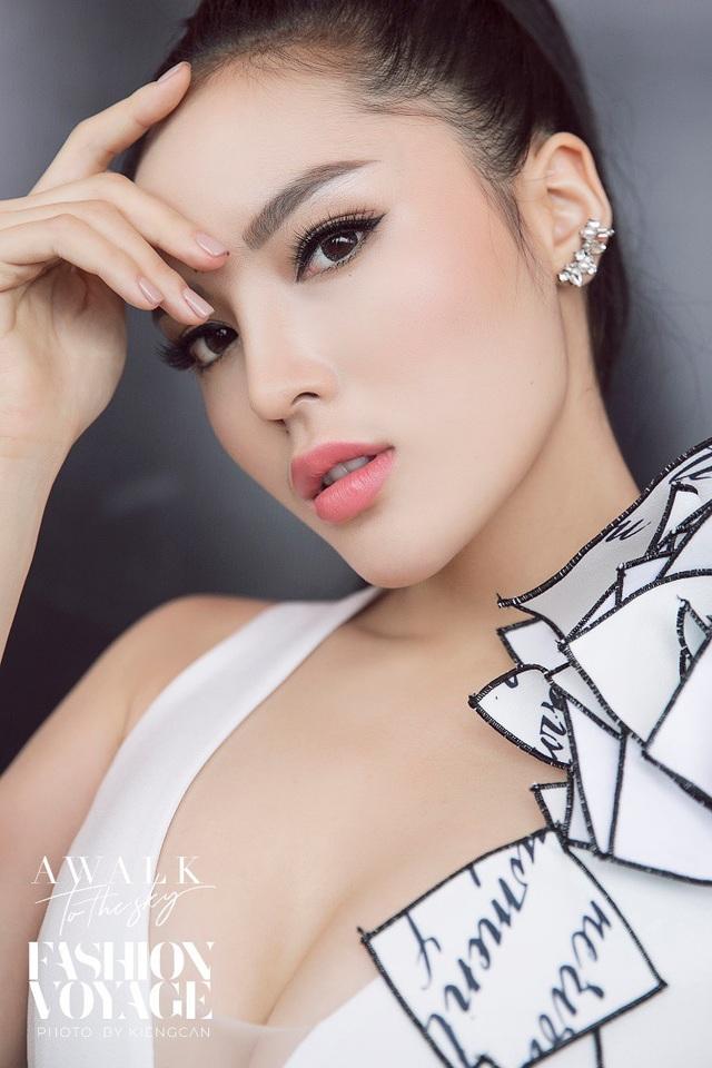 Hoa hậu Kỳ Duyên chia sẻ cảm nhận về phong cách trang điểm do Menard Việt Nam cùng chuyên gia trang điểm Nam Trung sáng tạo cho Fashion Voyage