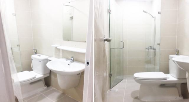 Nội thất, thiết bị vệ sinh của dự án là những thương hiệu có uy tín hàng đầu trên thị trường