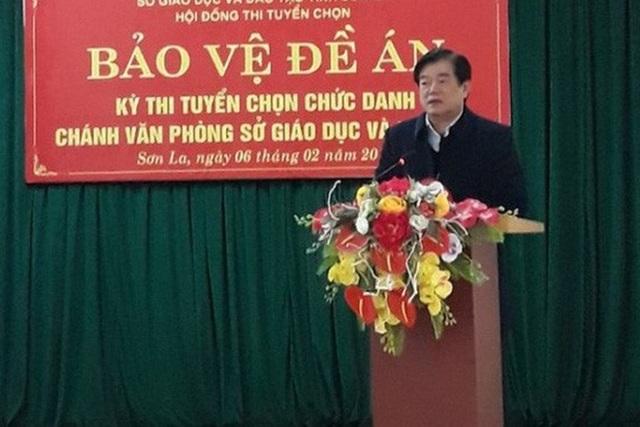 Ông Hoàng Tiến Đức - Giám đốc Sở GD&ĐT tỉnh Sơn La. (Ảnh: Sở GD&ĐT Sơn La).