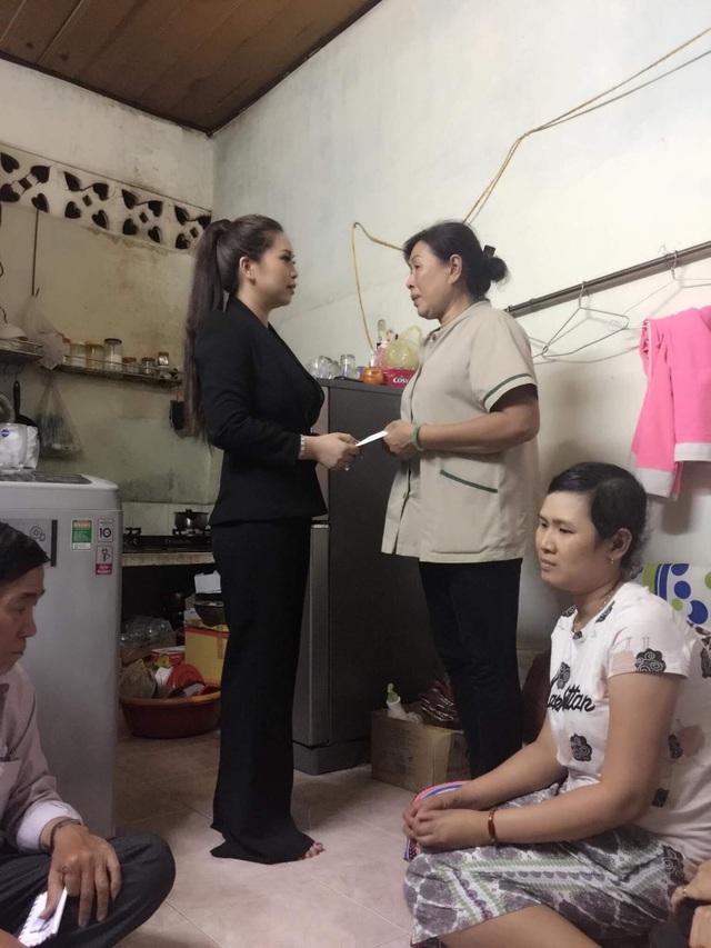 Thanh Thảo quê gốc Nam Định vào Sài Gòn lập nghiệp nên cô rất cảm thông với người nghèo