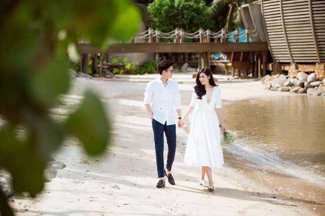Ảnh cưới ngọt ngào của Á hậu Tú Anh và vị hôn phu Gia Lộc - 9