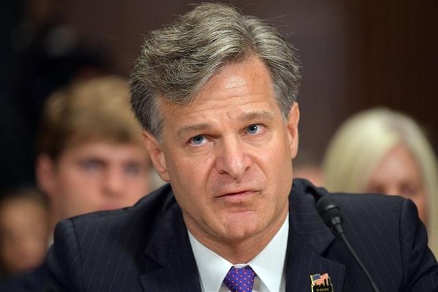 Giám đốc FBI Christopher Wray (Ảnh: NBC News)