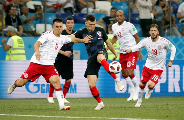 Croatia gặp rất nhiều khó khăn trước Đan Mạch
