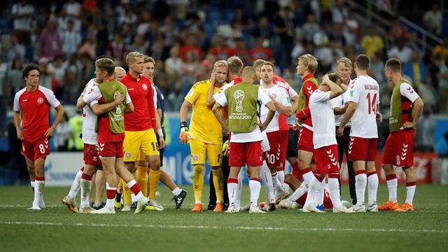 Nỗi buồn của các cầu thủ Đan Mạch