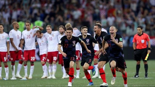 Niềm vui chiến thắng của Croatia