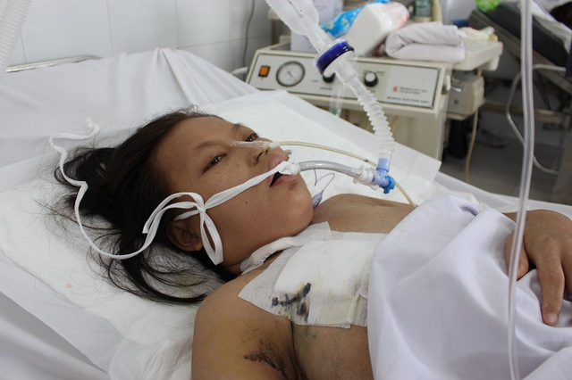 Sau khi sinh con, người mẹ đã nhiều lần chết đi sống lại vì bạo bệnh
