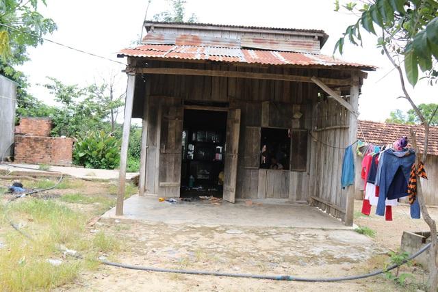 Căn nhà của gia đình chị Long Thị Cành