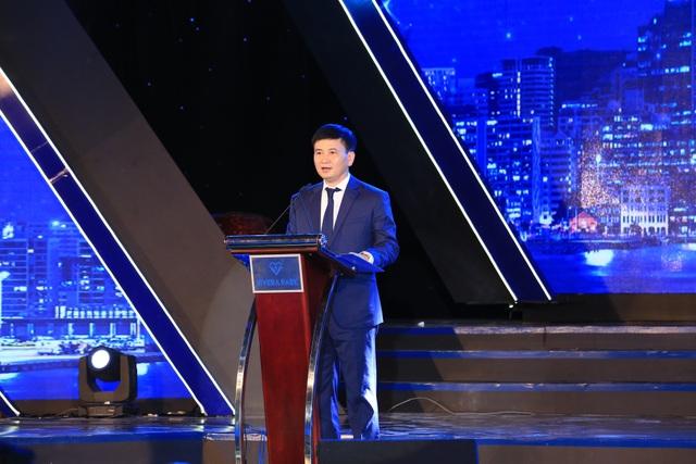 Ông Hồ Hồng Hà - Tổng Giám đốc Long Giang Land phát biểu tại buổi lễ.