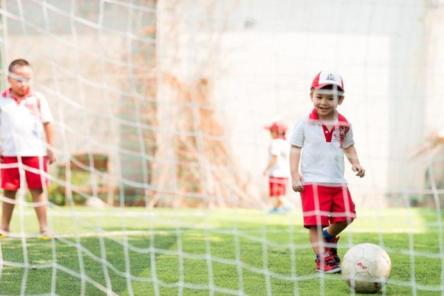 Nhiều hoạt động ngoại khóa giúp trẻ em tăng hứng thú khi học tập tại trường Sunshine Maple Bear.