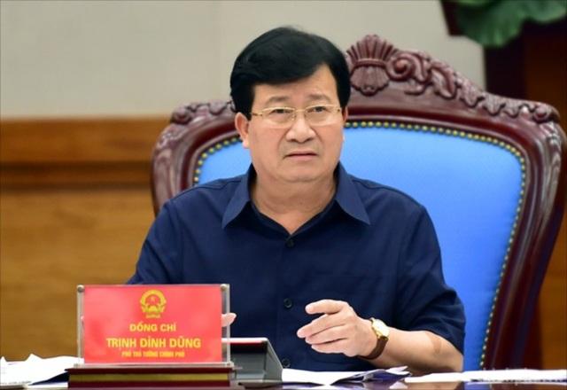 Phó Thủ tướng Trịnh Đình Dũng yêu cầu rà soát quy hoạch, trả lại không gian biển cho người dân