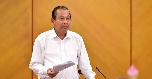 Phó Thủ tướng Trương Hoà Bình cho biết, hiện trên mạng xã hội lại tiếp tục lan truyền những thông tin kêu gọi biểu tình.