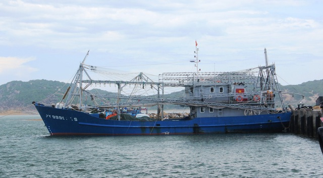 Trong năm 2018, tỉnh Phú Yên đã cấp mới giấy phép đăng ký khai thác cho 80 tàu cá với tổng công suất 30.100 CV