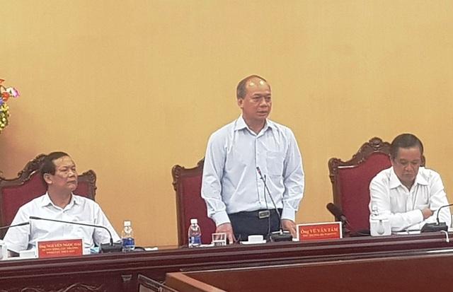 Ông Vũ Văn Tám, Thứ trưởng Bộ Nông nghiệp và phát triển nông thôn, đề nghị tỉnh Kiên Giang cần quản lý chặt chẽ hơn nữa, chấm dứt tình trạng tàu cá đánh bắt trái phép vùng biển nước ngoài.