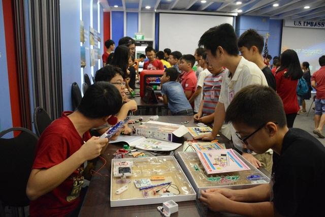 Theo thông tin ghi nhận, trại hè năm nay có sự tham gia của 50 em nhỏ đến từ Hà Nội, tăng gấp đôi so với năm ngoái.
