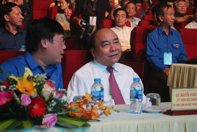 Thủ tướng Nguyễn Xuân Phúc tới dự lễ trao giải sáng tác ca khúc về Chiến thắng Đồng Lộc