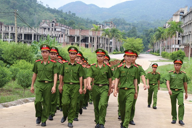 Đại diện Tiểu đoàn trưởng Tiểu đoàn 2 (Bộ tư lệnh CSCĐ - K20) khẳng định, kết quả thi các chiến sĩ hoàn toàn xứng đáng, dù chưa đạt cao như mong đợi.