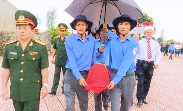 Dịp này, Đồng Tháp cải táng 85 hài cốt các anh hùng liệt sỹ hy sinh qua các thời kỳ tại Campuchia